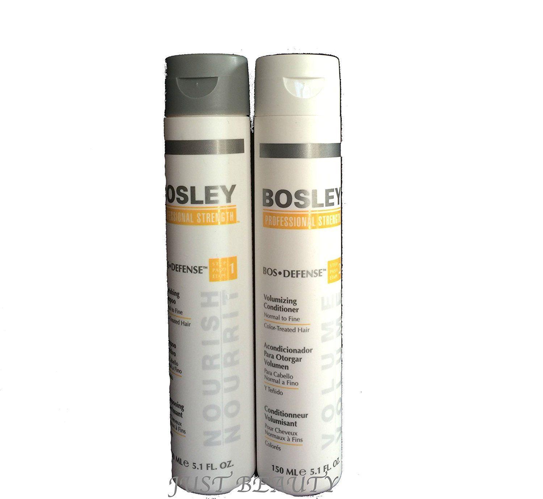 Bosley Defense Nourishing Shampoo And Volumizing