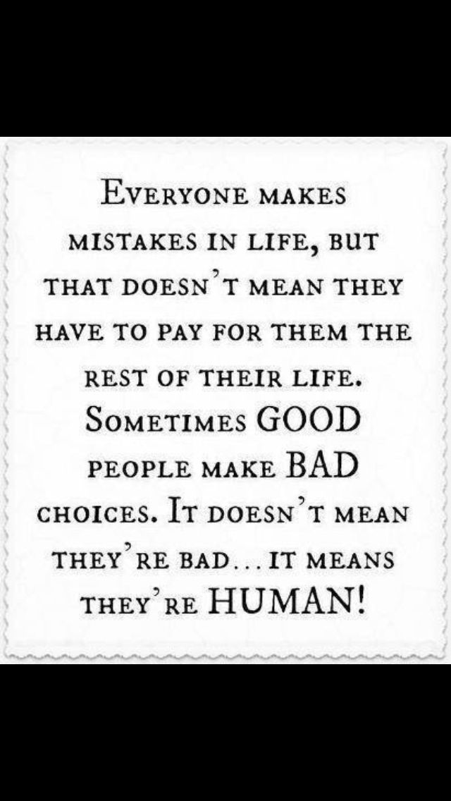 Making Bad Choice Doesnt Make You A Bad Person Quotes Quotes