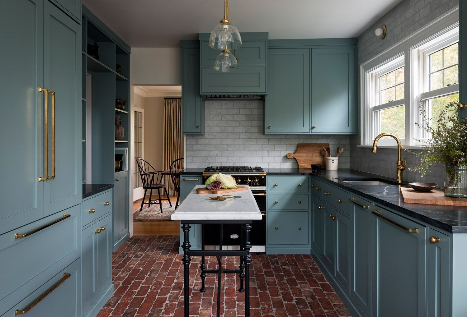 a traditional victorian home in seattle with modern touches rue kitchen cabinet colors on a kitchen design id=72877