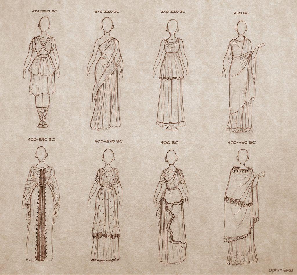 Ancient Greek Dresses by Ninidu.deviantart.com on @deviantART