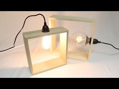 Diy Modern Lighting Youtube Lampen