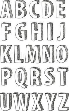 Hand Drawn Lettering Fonts