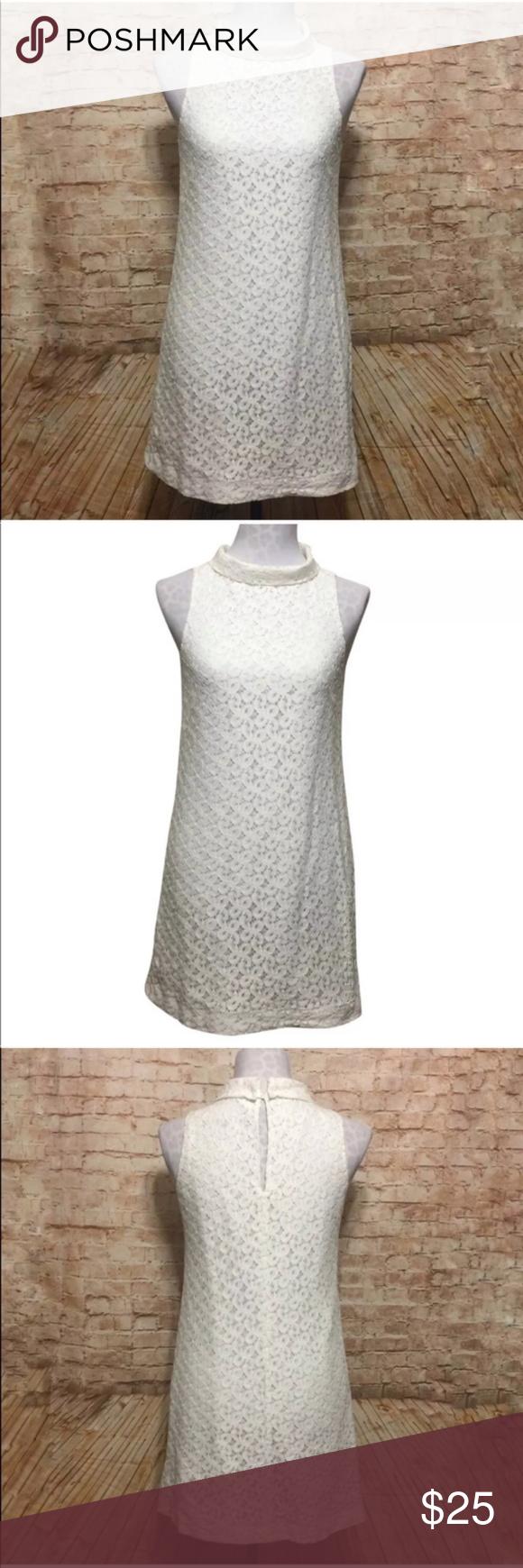 White lace dress zara  Zara White Lace Mod Style Retro Dress  My Posh Picks  Pinterest