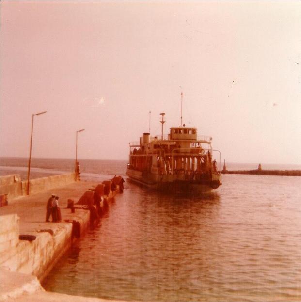 Gozo Ferry No 21 Mv Melitaland 1974 1996 Gozo Malta Ferry