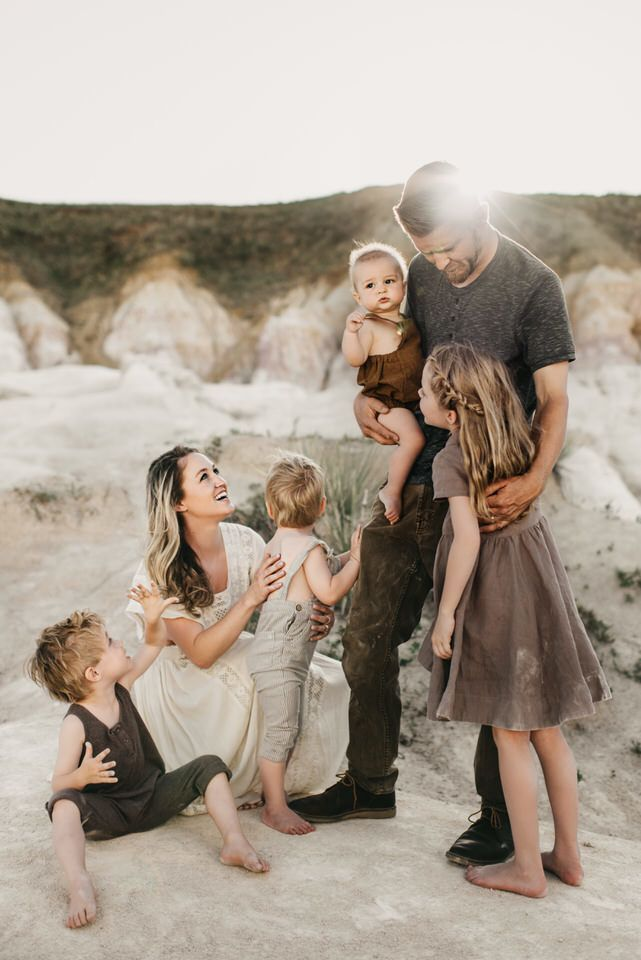 Styling Tips for Family Photography - The Milky Way