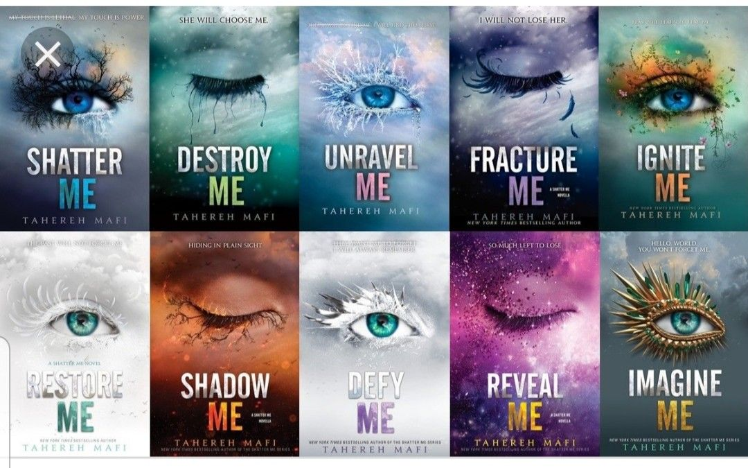This is one of the best series I have ever read, reveal me ...