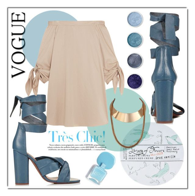Tres Chic by cranetattoo on Polyvore featuring polyvore fashion style TIBI Topshop Terre Mère Library of Flowers clothing
