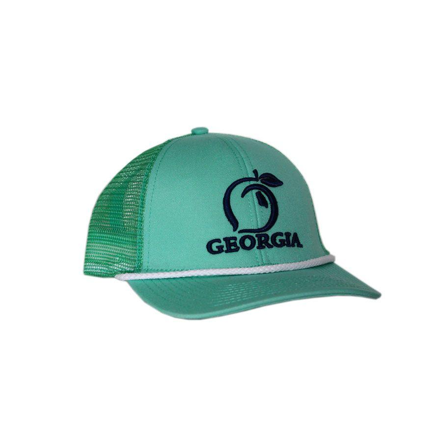 Georgia Mesh Back Hat Peach State Pride Hats Baseball
