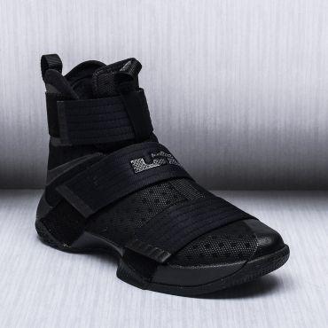 2b28bfe0793 Nike Lebron Soldier 10 Black Space