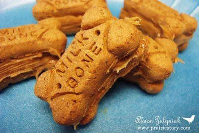 Prairie Story Milk Bone Pb Sandwich Treats Dog Biscuits Homemade Food Treats