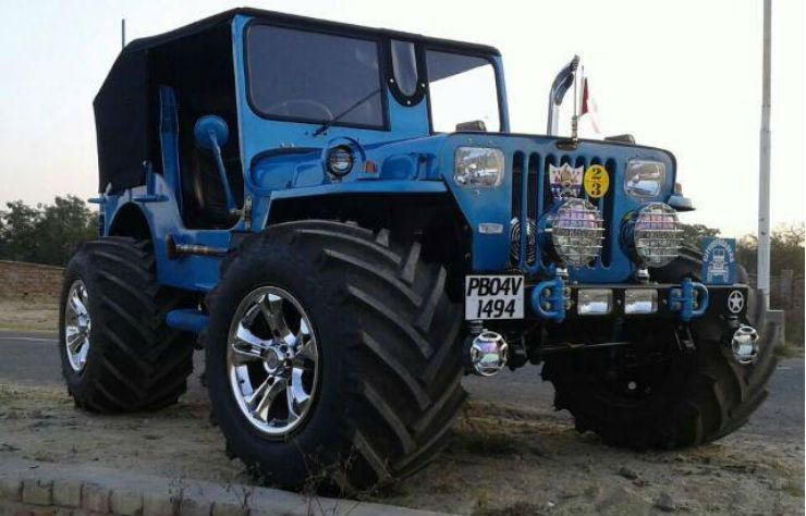 10 Crazy Cool Low Rider Jeeps Of India Edition Ii Jeep Landi