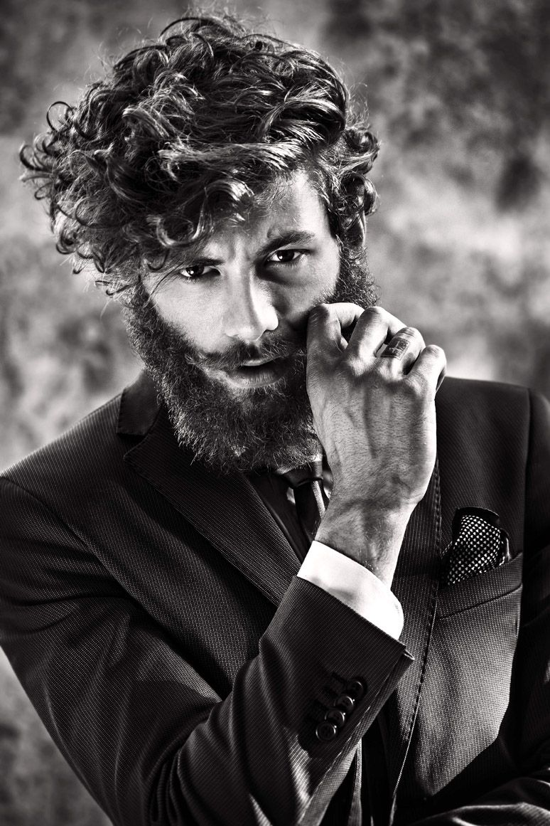 beardsftw: verymanlyman: andrea marcaccini [[ follow beardsftw