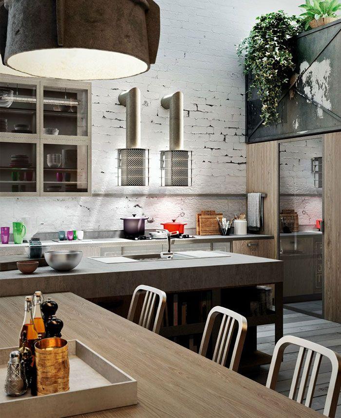 Loft Style Kitchen Design By Michele Marcon Kitchen Styling Kitchen Interior Kitchen Design