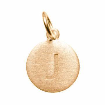 SC6851 4 Letter J Alphabet Charms Antique Silver Tone