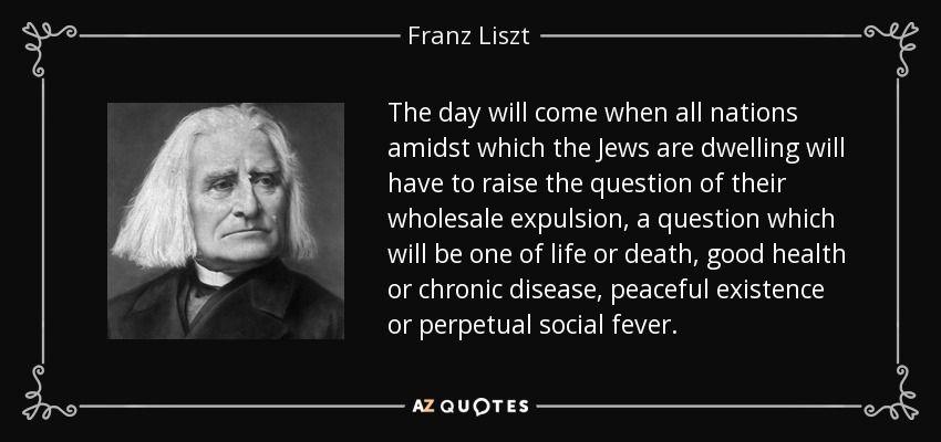 Franz Liszt Quote William Shakespeare Quotes Quotes Senior Quotes