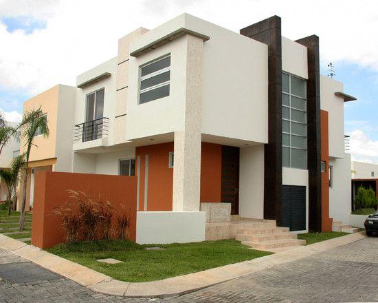 Pintura verde para exteriores fachadas de casas buscar - Pintura fachada exterior ...