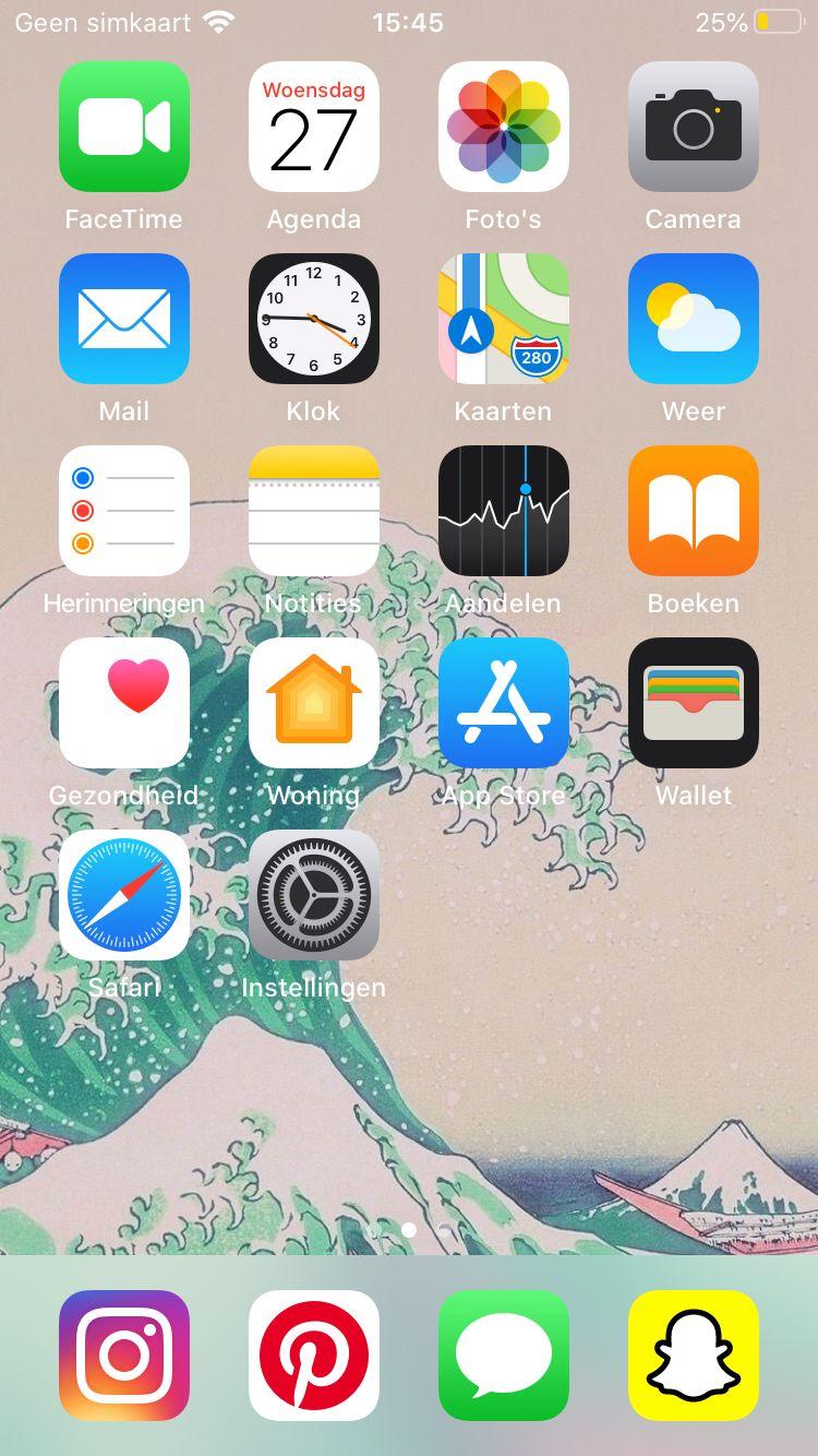 Pin de 𝕱𝕷𝕰𝖀𝕽 em phone organization em 2020