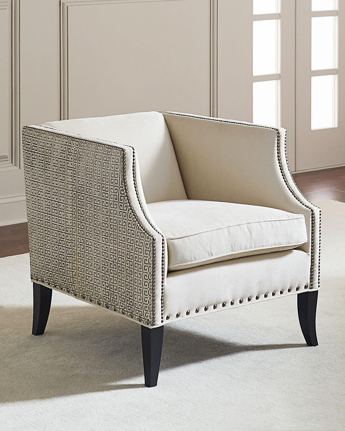 Bernhardt alanis leatheraccent chair accent chairs