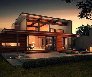 Lyndal Modern Green Home