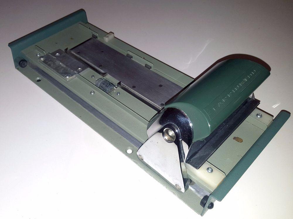 FARRINGTON VINTAGE CREDIT CARD MACHINE MANUAL IMPRINT SLIDER 1970s ...