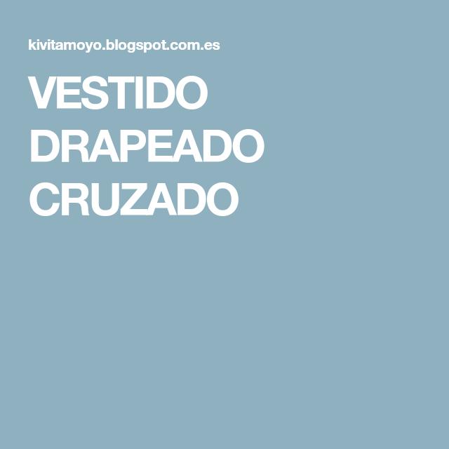 VESTIDO DRAPEADO CRUZADO