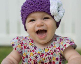Articoli simili a Uncinetto cappello bambino su Etsy