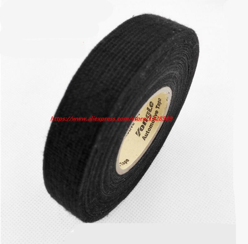 wiring harness glue 19mmx20m universal flannel fabric cloth tape automotive wiring  flannel fabric cloth tape