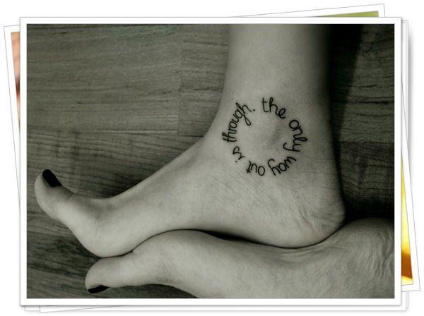 45 Inteligentes Modelos De Lindas Tatuagens Escritas
