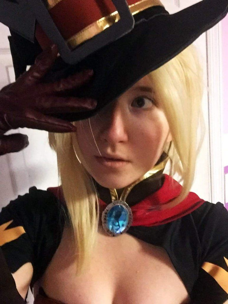 Overwatch Mercy Witch Cosplay by sofonisbasaki Check out http ...