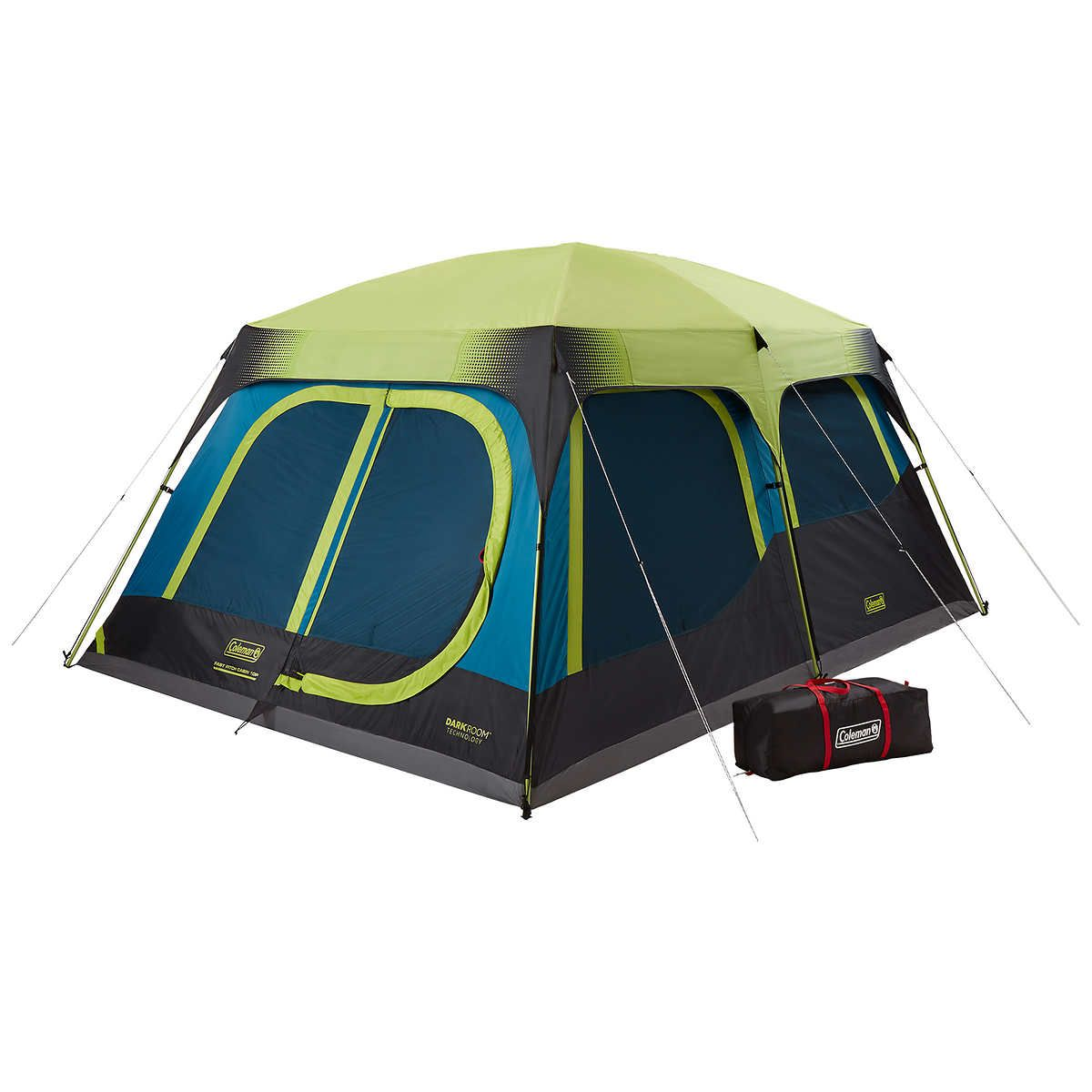 Coleman 10 Person Dark Room Fast Pitch Cabin Tent Cabin Tent Tent Camping Tent