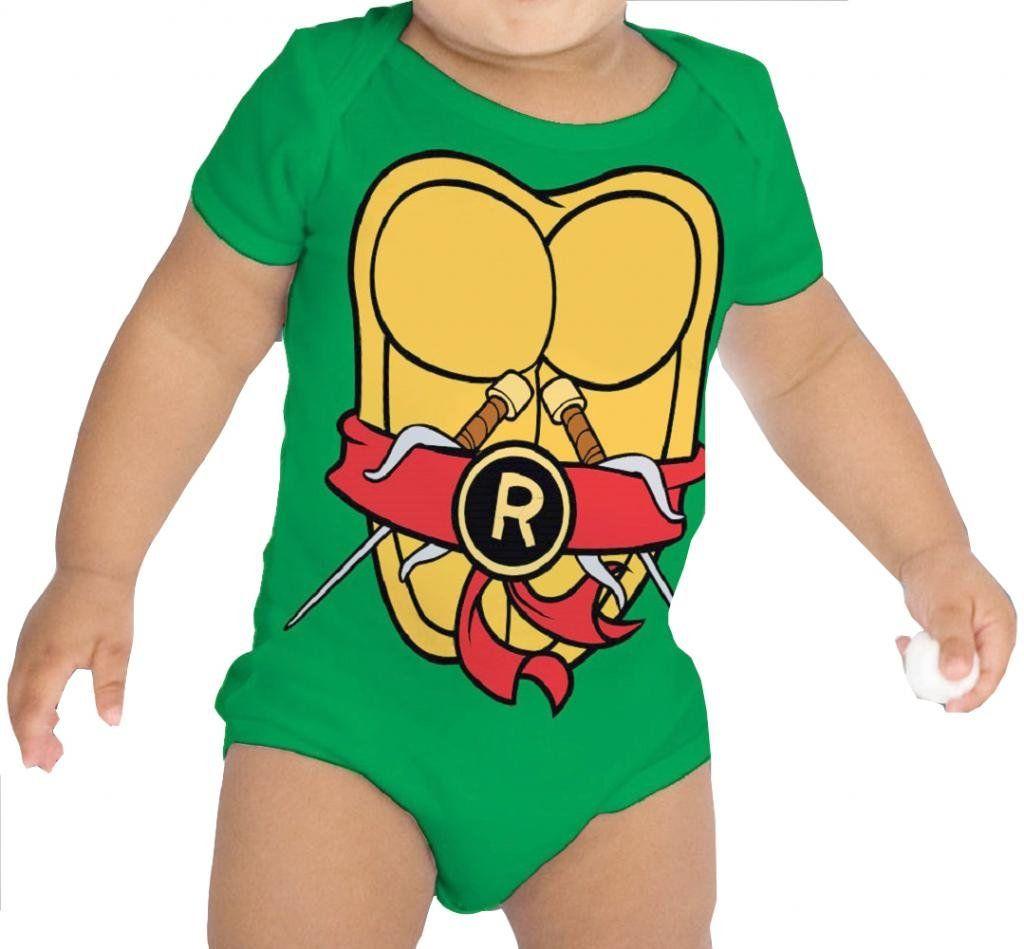 Teenage Mutant Ninja Turtles Green Raphael Costume Infant Baby ...