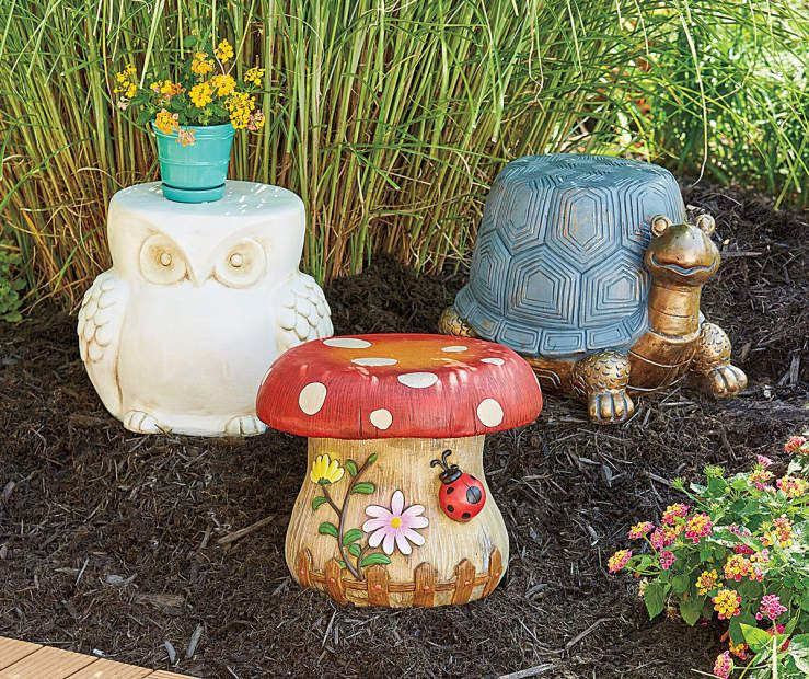 Garden Stool Collection At Lots