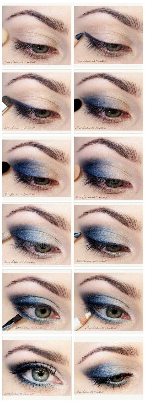 17 Makeup With Navy Dress Ideas Makeup Beautiful Makeup Eye Makeup