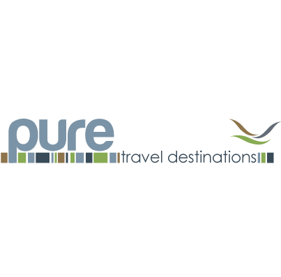 Pure Travel Web Design Travel Logo Pure Products