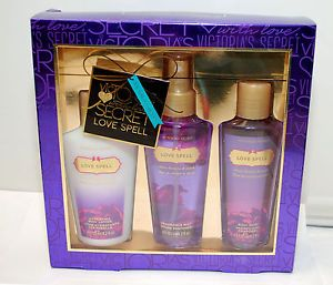Victoria Secret Gift box Body Mist Lotion Wash Gift set Bran New ...
