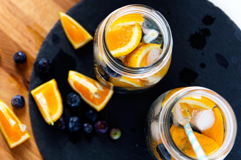 Madison Coco, Onlinemagazin, Bloggermagazin, Netzwerk, Kleidermädchen, Food, Lifestyle, Blueberry, Orange, Water, Infused Water, Rezept, Recipe