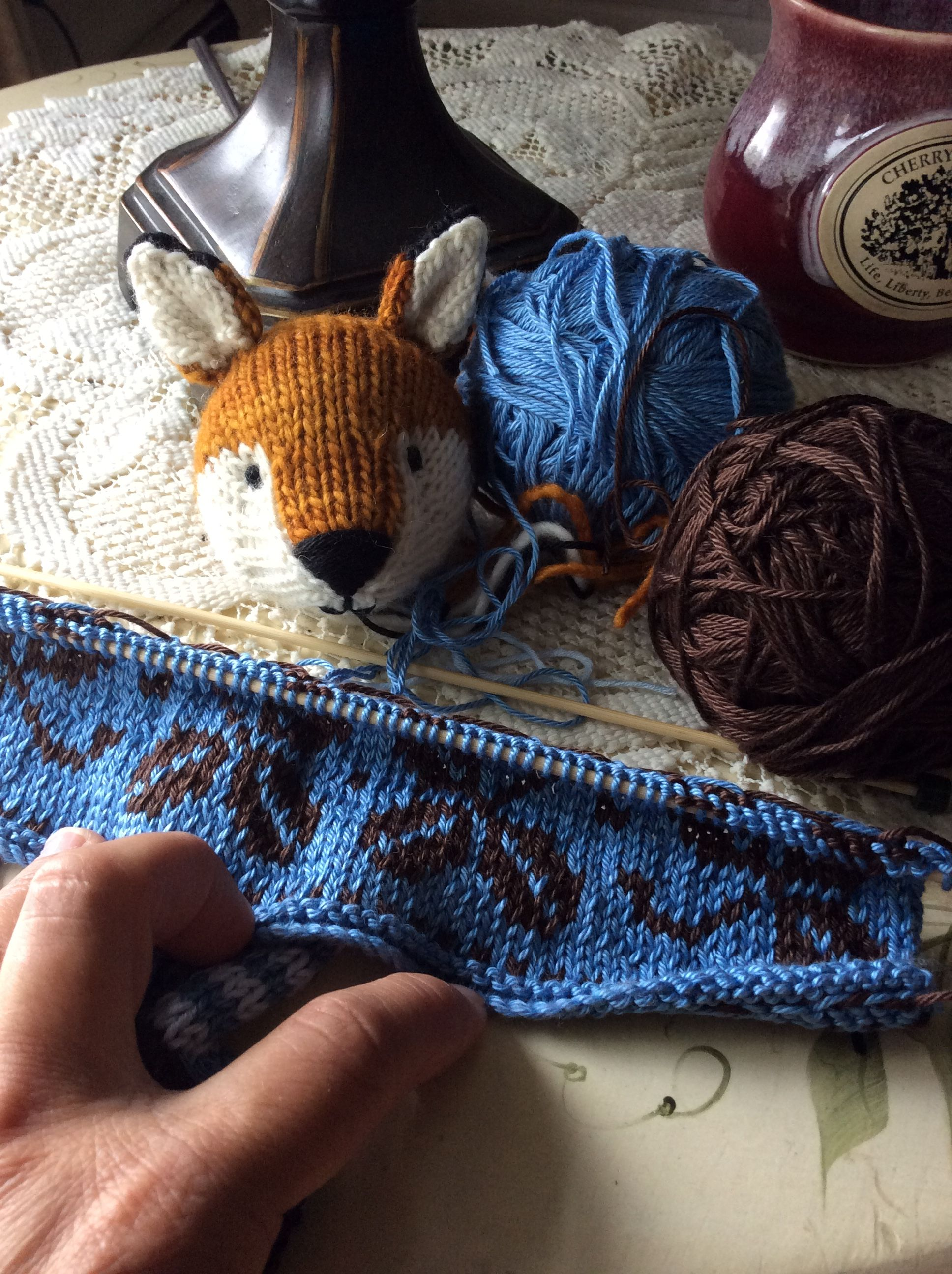 Pin By Lois Walker On My Knitted Things
