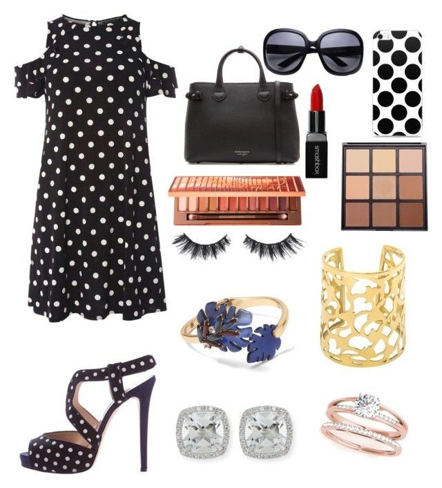 """Mall day"" by victoriapond on Polyvore featuring Dorothy Perkins, Oscar de la Renta, Burberry, Smashbox, Morphe, Urban Decay, Violet Voss, Banana Republic and Frederic Sage"
