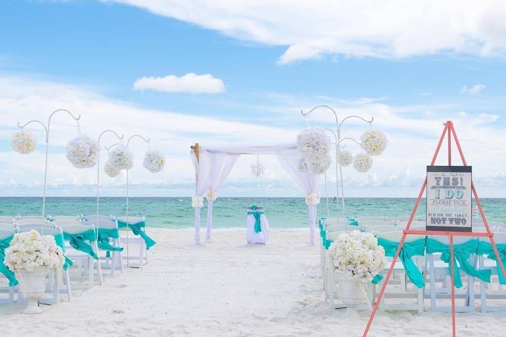 Turquoise Tiffany Green Blue Beach Wedding Beach Wedding White Diy Beach Wedding Beach Wedding Packages