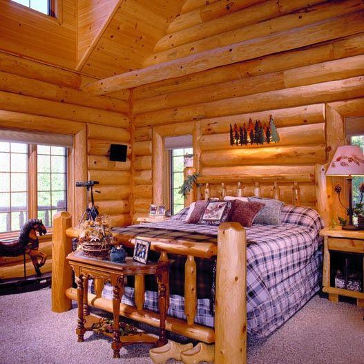 Log Home Photos | Dreamcatcher Home Tour › Expedition Log Homes ...