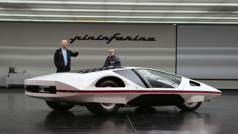 Jim Glickenhaus acquires the Ferrari Modulo from Pininfarina #conceptcars #ferrari #concept #cars