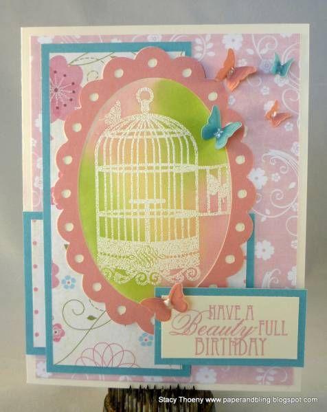 beautyfull viva la verve  paper crafts cards