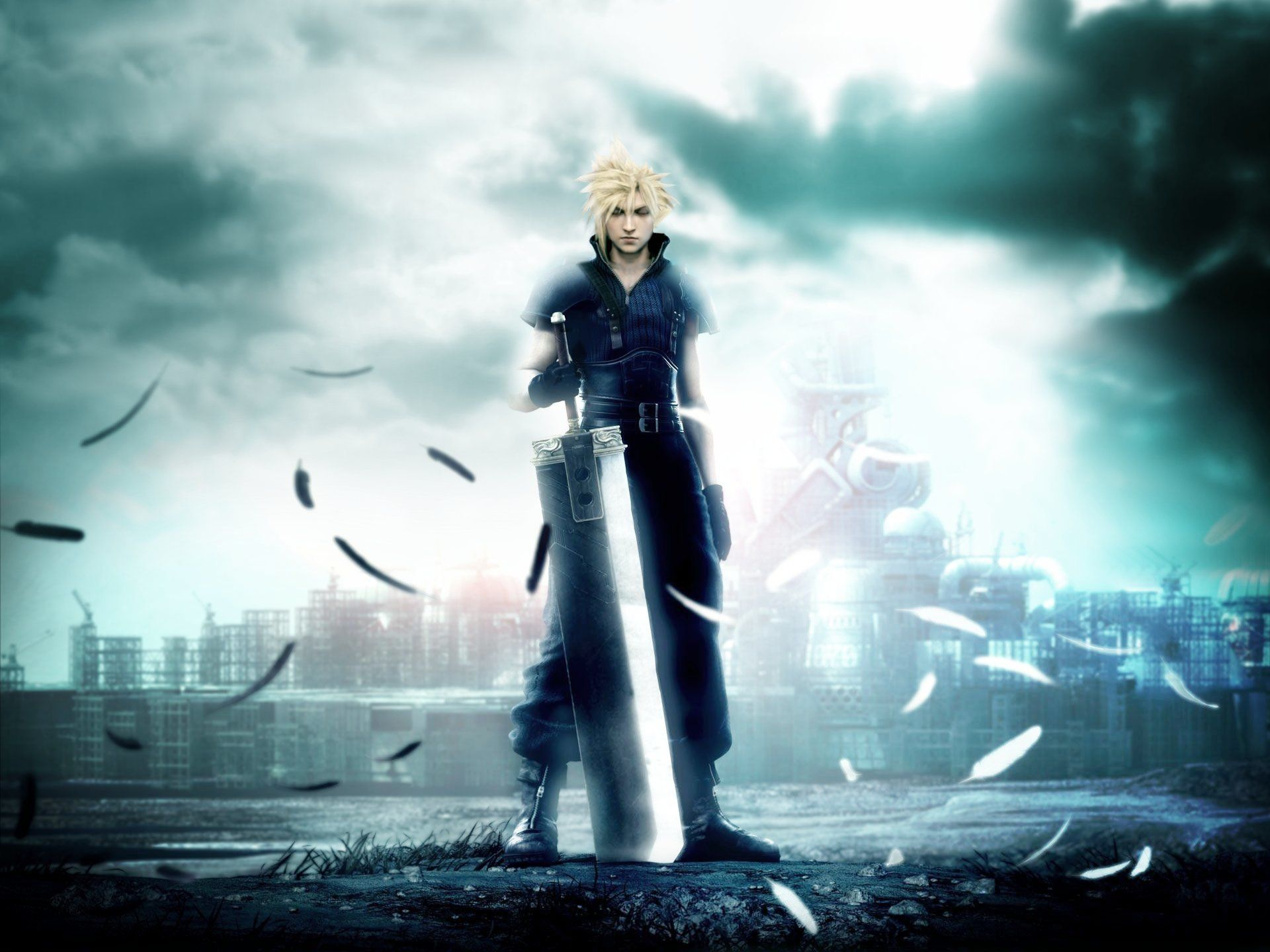 12 Final Fantasy Vii Advent Children Hd Wallpapers Backgrounds