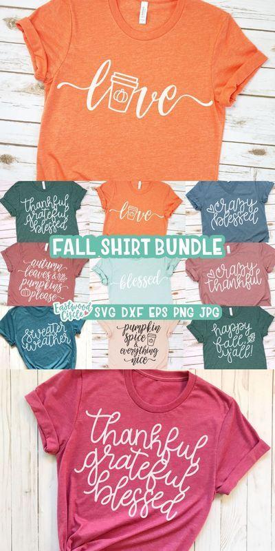 Fall Shirt svg Bundle, Fall svg Bundle, Fall svg,