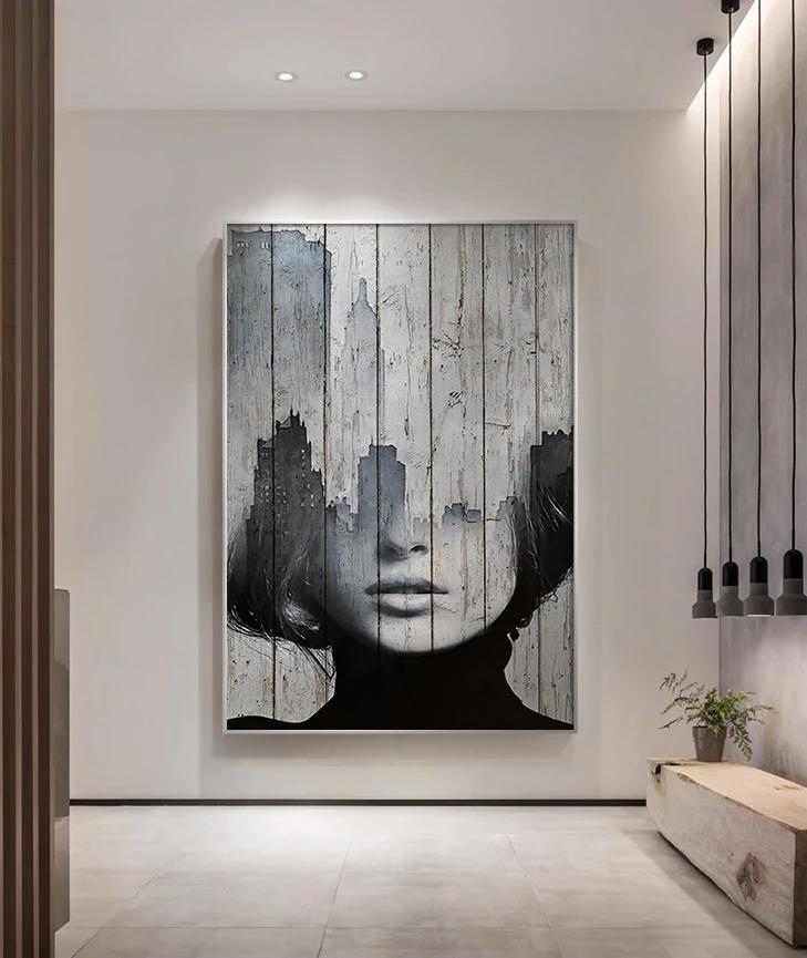 Pin By Yuliya On Modern Portrait Wall Art Diy Canvas Art Abstract Art Painting Beautiful Abstract Art