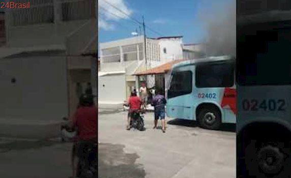Ônibus incendiado Fortaleza