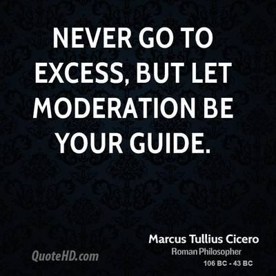 Life in Moderation