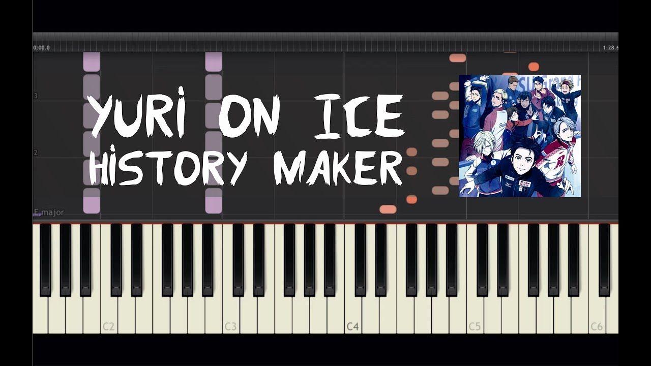 Yuri On Ice History Maker Piano Tutorial by Amadeus