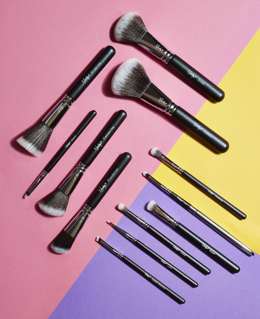 Have you heard about Nanshy vegan makeup brushes? They