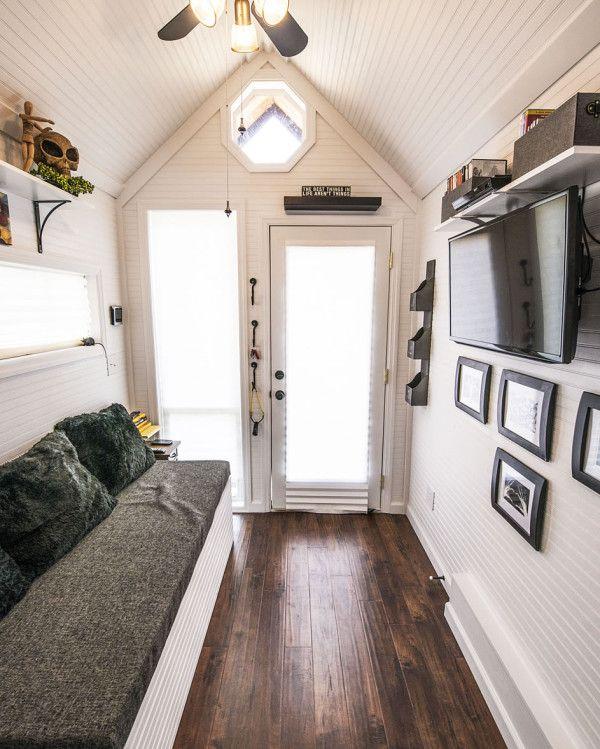Mendy's Tiny House - Interior Looking Forward